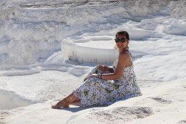 Beyaz Cennet'te bayram yoğunluğu