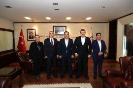 Ak Parti Genel Başkan Yardımcısı Öz'den Başkan Zolan'a ziyaret