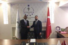 TÜMSİAD Denizli Şubesi Etiyopya Büyükelçisi'ni ağırladı