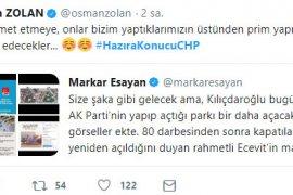Ak Parti Denizli teşkilatının açtığı #HazıraKonucuCHP etiketi kısa sürede TT oldu