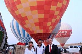 Sıcak hava balonu ile Pamukkale semalarında nikah