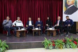 Merkezefendi Belediyesi spor çalıştayı yoğun katılım ile gerçekleşti