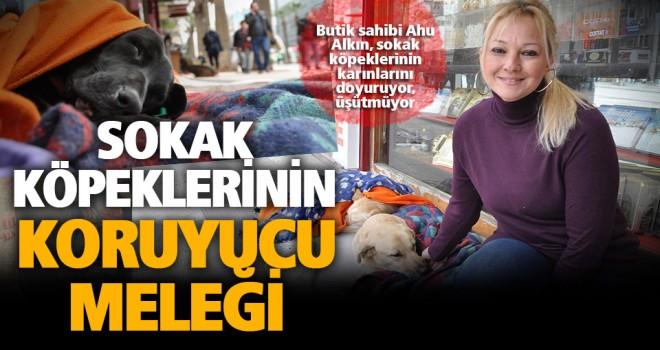 Sokak köpeklerinin koruyucu meleği