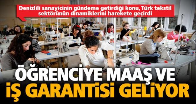 DSO Başkanı Keçeci'nin 'tekstil eğitimi' tespiti karşılık buldu, çözüm geliyor