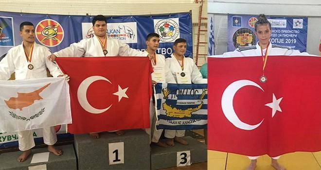 Balkan Şampiyonası'ndan Denizli'yi gururlandıran iki madalya