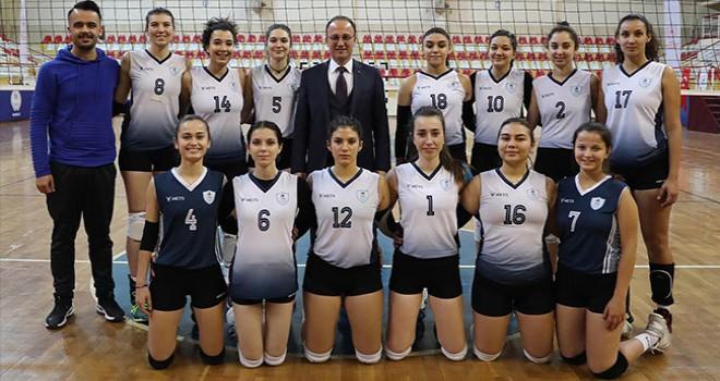 Pamukkale Belediyesporlu kızlar final için hazır
