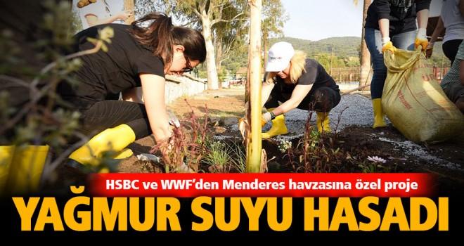 Yağmur suyu hasadı ile çiftçiler ve Menderes kurtulacak