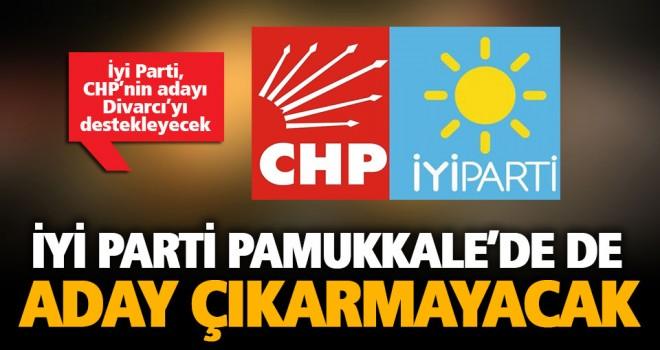 İyi Parti, Merkezefendi'den sonra Pamukkale'de de CHP adayını destekleyecek