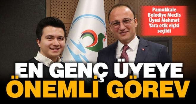 Pamukkale Belediye Meclis Üyesi Mehmet Yara etik elçisi seçildi