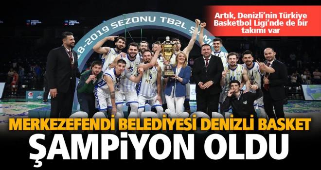 Denizli Basket'te kupa sevinci