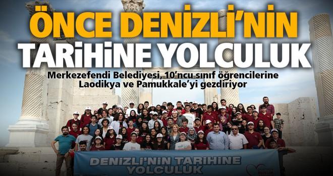 Merkezefendi Belediyesi, 10'ncu sınıf öğrencilerine Laodikya ve Pamukkale'yi gezdiriyor