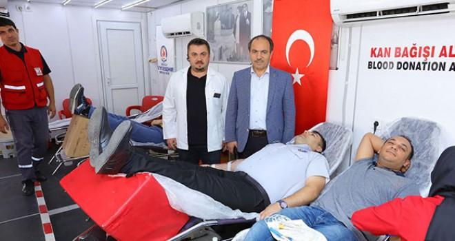 Kan bağışı kampanyasına DESKİ'den 8'nci destek