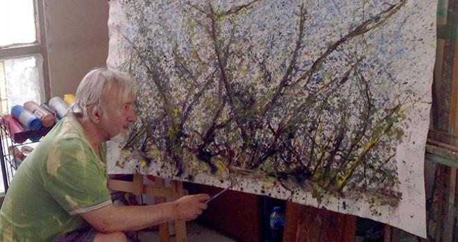 Denizlili ressam Veysel Akit'in 'Esintiler' sergisi Denizli'de