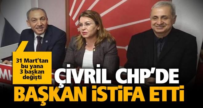CHP Çivril ilçe başkanı istifa etti
