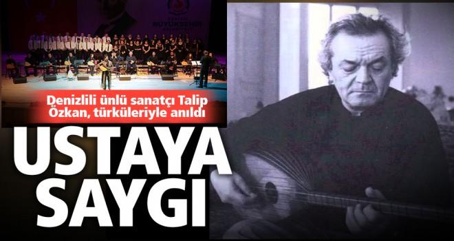 Büyükşehir Talip Özkan Anma Konseri düzenledi