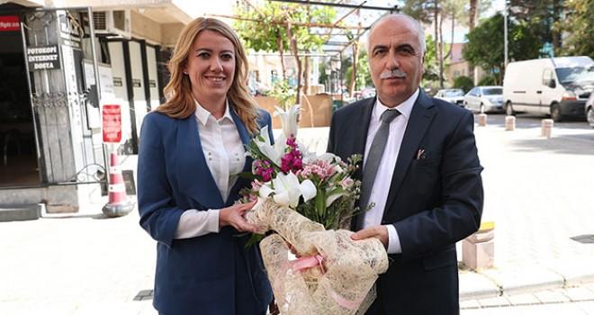 Vali Karahan'dan Merkezefendi Belediyesi'ne iade-i ziyaret