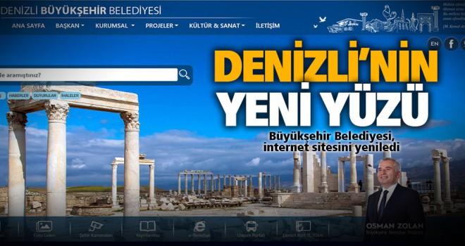 Büyükşehir'in internet sitesi yeni yüzüyle hizmette