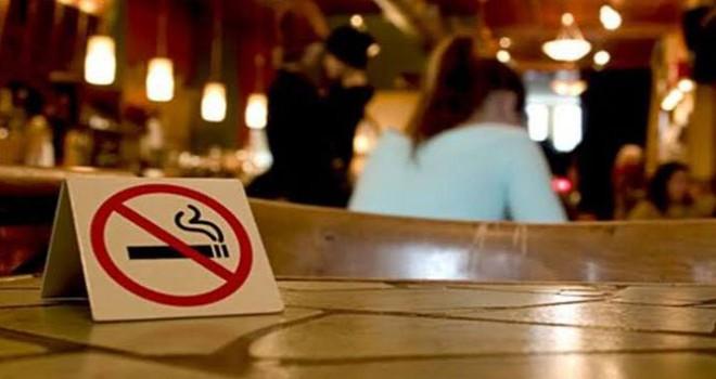 Eğlence mekanları ve kafelerde sigara içene ceza