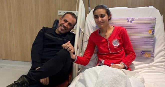 Ceren ameliyat oldu, Haluk Levent ziyaret etti