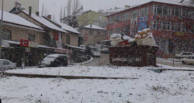 Çameli'ye kar sürprizi