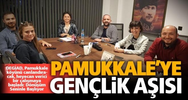 DEGİAD, Pamukkale köyünü canlandıracak, heyecan verici bir çalışmaya başladı