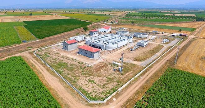 Tavas'a 50 bin kişilik biyolojik arıtma tesisi