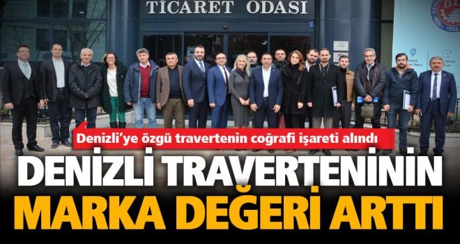 Erdoğan: Coğrafi işaret, Denizli traverteninin marka değerini artırdı