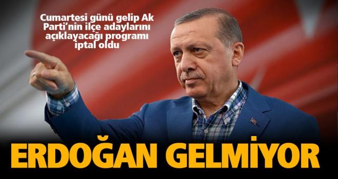 Cumhurbaşkanı Erdoğan, ilçe adaylarını İzmir'den açıklayacak
