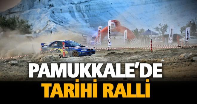 Pamukkale'de ralli heyecanı