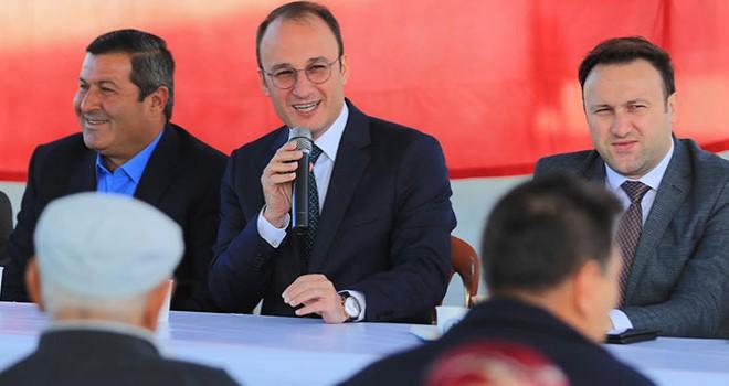 Pamukkale Belediye Başkanı Örki Yeniköylüleri dinledi