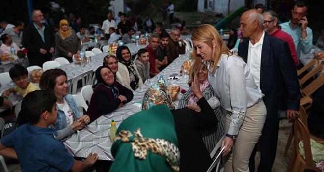 Merkezefendi Belediyesi'nden Altındere'de iftar buluşması