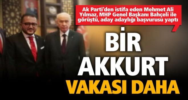İstifa imzası kurumadan MHP'ye katıldı