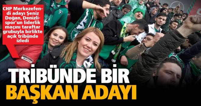 Açık tribünde maç izledi sosyal medya yıkıldı