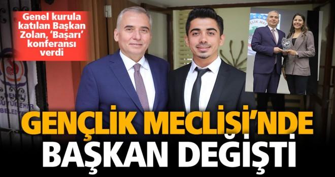 Gençlik Meclisi'nin yeni başkanı Tunahan Birden oldu