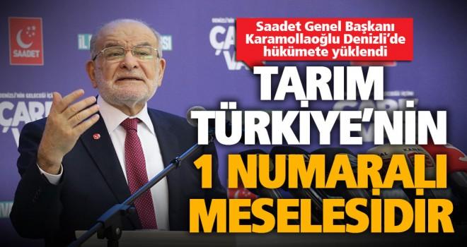 Karamollaoğlu, hükümeti eleştirdi