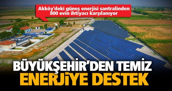 Büyükşehir'in güneş tarlaları büyüyor