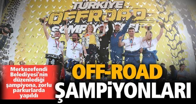 Off-Road şampiyonları belli oldu