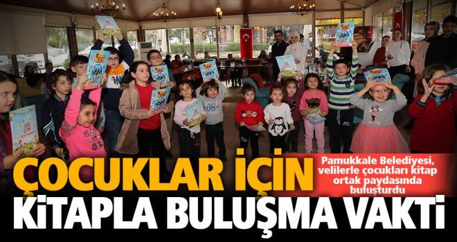 Pamukkale Belediyesi'nden çocuklara kitap okuma günü