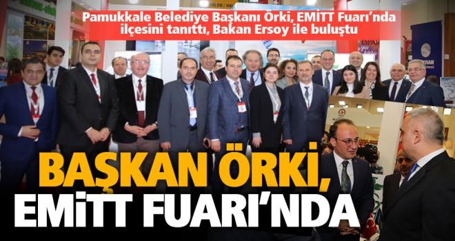 Başkan Örki EMİTT 2020 Fuarında