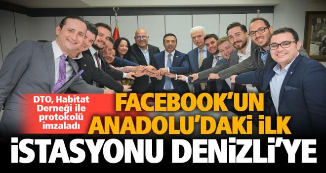 Facebook'un Anadolu'daki ilk istasyonu için imzalar atıldı