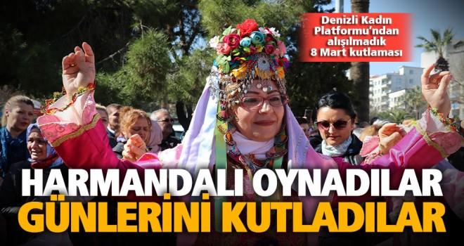 Denizli Kadın Platformu'ndan alışılmadık 8 Mart kutlaması