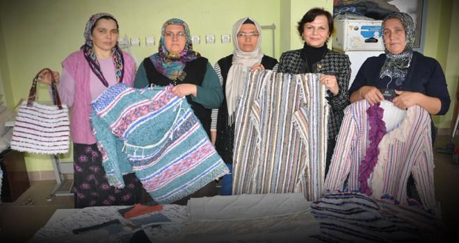 Tekstil atıklarına geri dönüşümle can verdiler