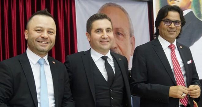 CHP'de Merkezefendi İlçe Başkanlığına Ali Osman Horzum seçildi