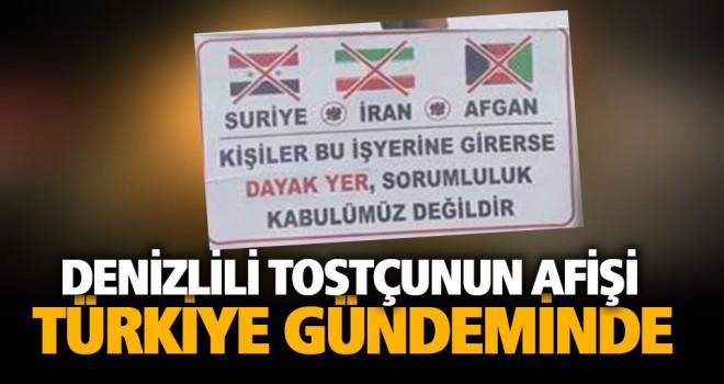 İranlı, Suriyeli, Afgan giremez afişi Türkiye'nin gündeminde