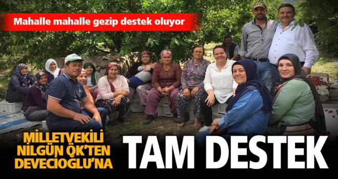 Milletvekili Ök'ten Devecioğlu'na tam destek