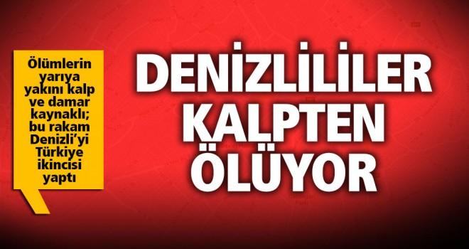 Denizli; kalp-damar hastalıklarından ölümde Türkiye ikincisi