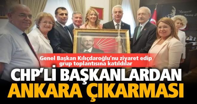 CHP'li başkanlar Kılıçdaroğlu'nu ziyaret etti