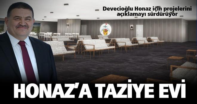 Devecioğlu'ndan Honaz'a taziye evi