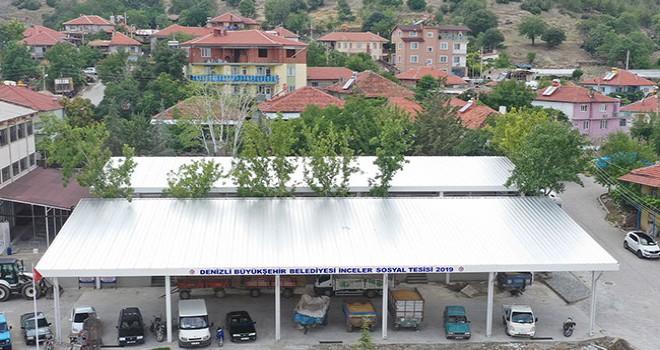 Büyükşehir'den İnceler'e sosyal tesis