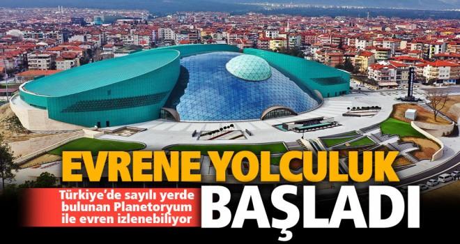 Türkiye'nin sayılı gezegen evlerinden biri artık Denizli'de